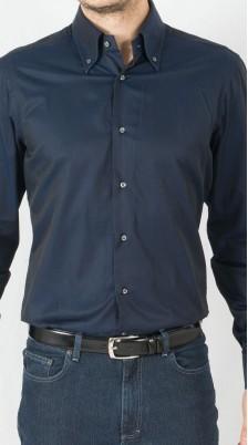 Camicia Blu Cotone
