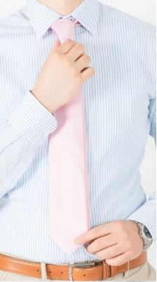 Camicia Cotone Riga Bluette