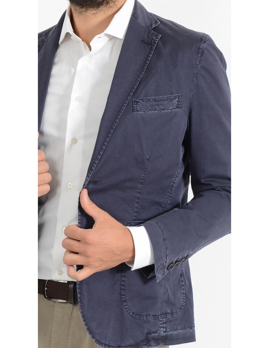 innovative design dc181 7191d Giacca Blu uomo sportiva