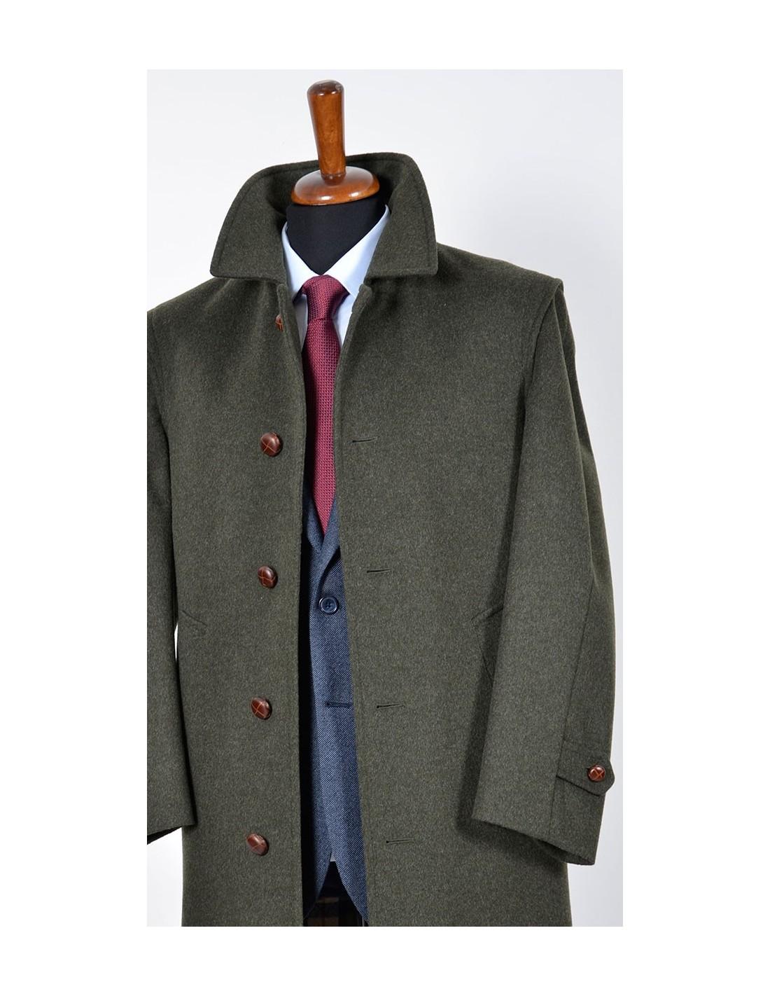 low cost 0b291 94b87 Cappotto Uomo Loden Verde - Gente & Moda