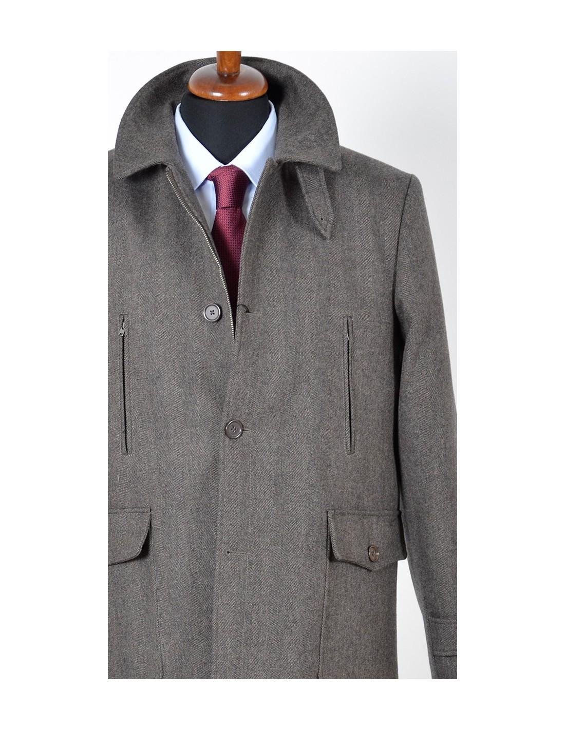 Giacconi invernali uomo in lana