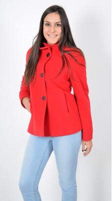 Cappottino Corto Rosso