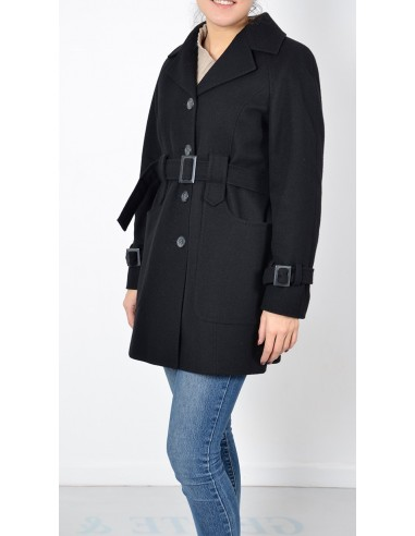 new arrival d2268 ff01d Trench Lana Donna Nero