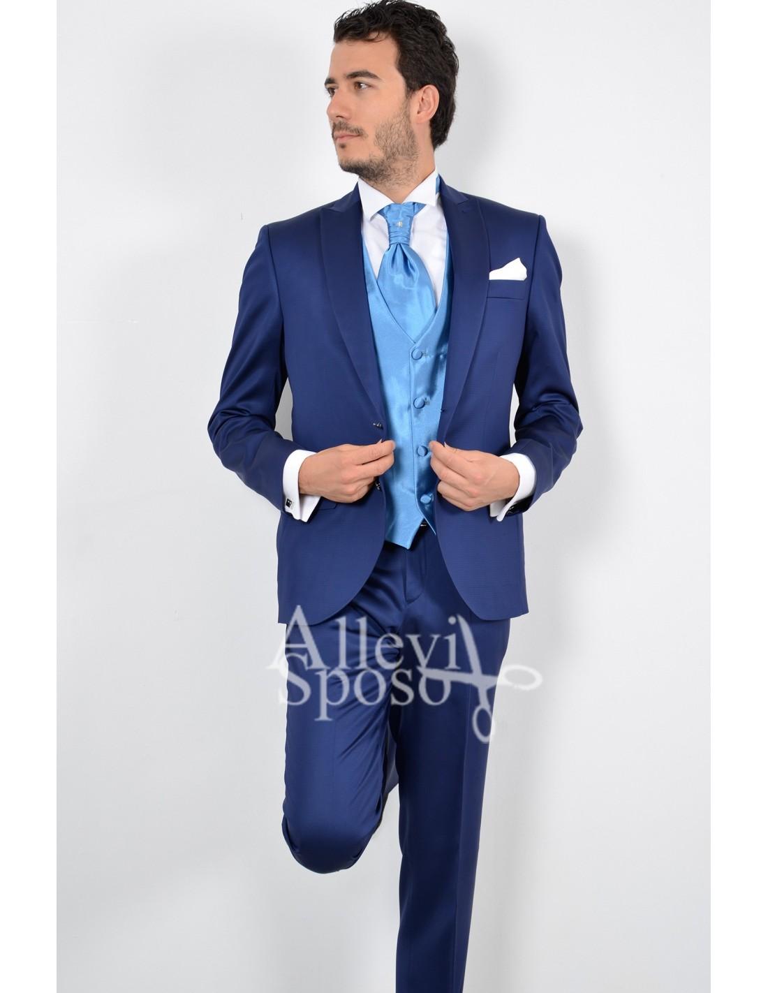 Abito Matrimonio Uomo Zalando : Abito matrimonio uomo azzurro abiti alla moda