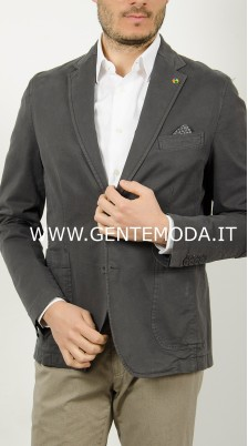 giacca grigio trendy