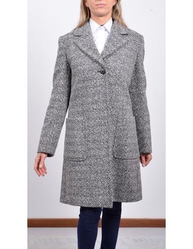 Cappottino giovane donna grigio