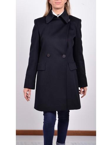 finest selection e1d51 1d230 Cappotto donna doppiopetto blu