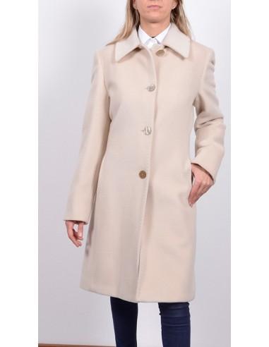 cappotto beige donna