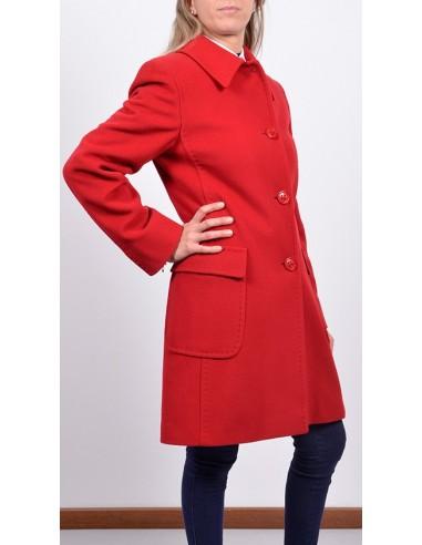 promo code 3e354 c6c58 Cappotto Rosso Donna