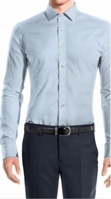 Camicia azzurra Slim