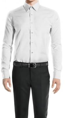 Camicia collo classico Bianco