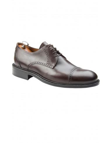scarpa con vibram e doppio cuoio allacciatura francesina fa77eacf060