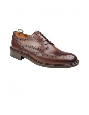 scarpa con vibram e doppio cuoio allacciatura derby 28db9fe9408