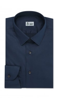 Camicia classica Blu