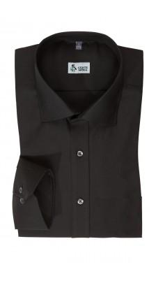 Camicia classica Nera