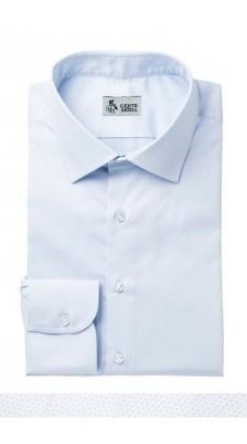 Camicia Twill Celeste