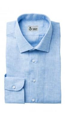 Camicia Lino Azzurro