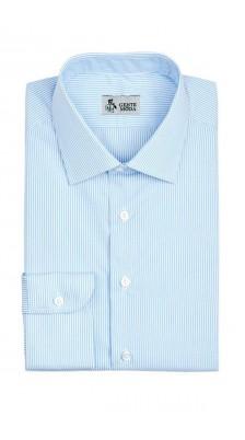 Camicia Millerighe azzurro