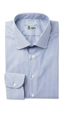 Camicia Microriga Cotone