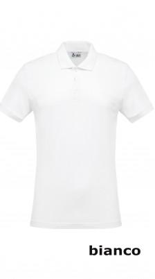 Polo Cotone  Bianco