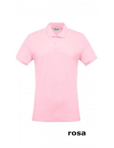Polo Cotone rosa piquet
