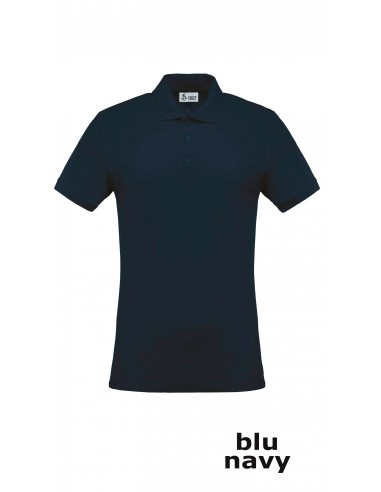 Polo Cotone  Blu Navy