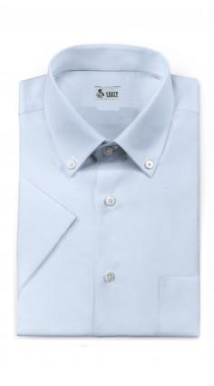 Camicia Mezze Maniche Azzurro