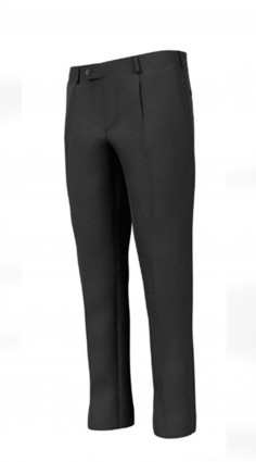 Pantalone con pinces Lana...