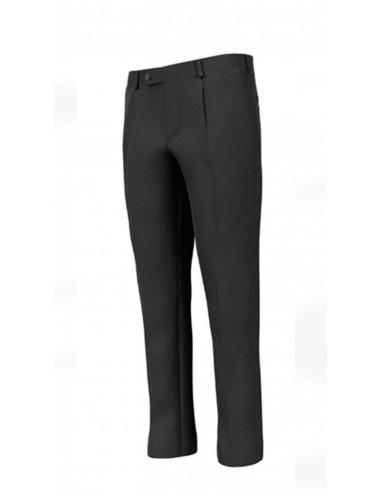 Pantalone con pinces in Lana Sallia...