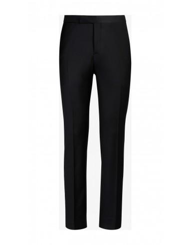 Pantalone lana tela Nero P / E
