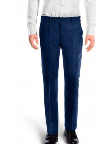 Pantalone con pinces in cotone...
