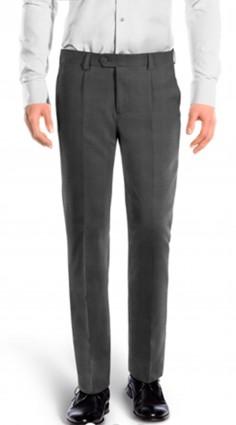 Pantalone con pinces cotone...