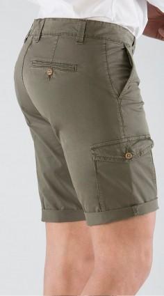 Pantalone Bermuda Verde con...