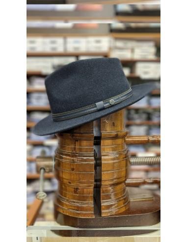 Cappello in lana blu sfoderato BGT