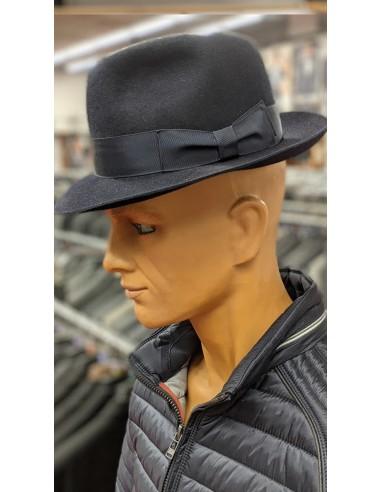 Cappello fedora con tesa Blu mod...