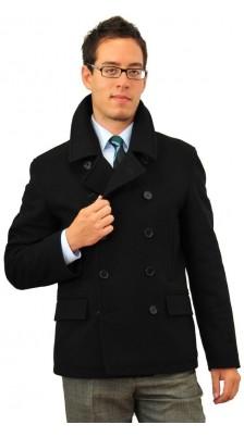 cappotto doppio petto corto