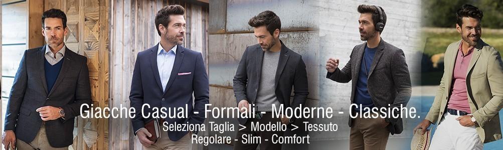 Giacca Uomo Sportiva Elegante a Milano