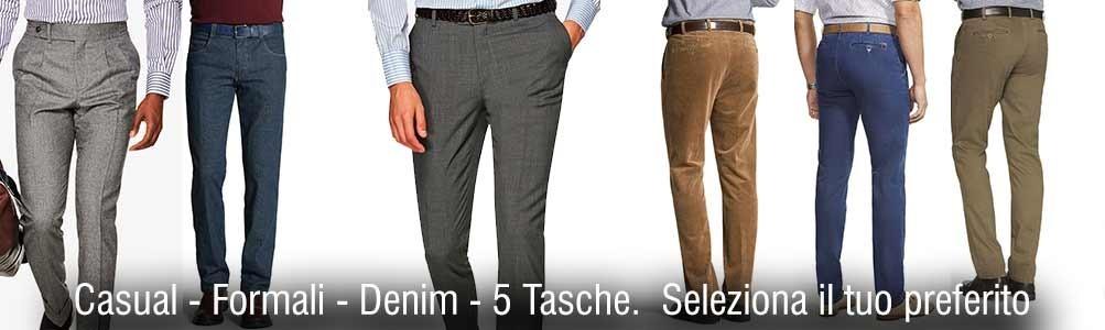 Pantalone Uomo Classico, modelli eleganti e sportivi