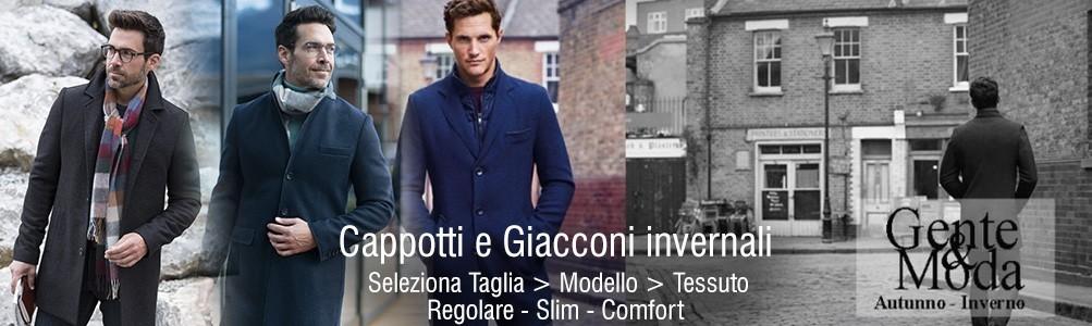 Cappotto da Uomo Lungo Elegante a Milano e Bergamo