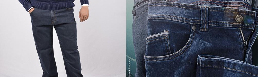 Pantaloni Jeans Taglie Forti