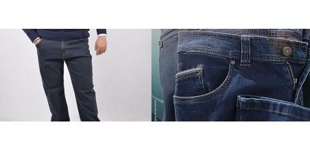 Jeans Denim 5 Tasche Taglie Forti