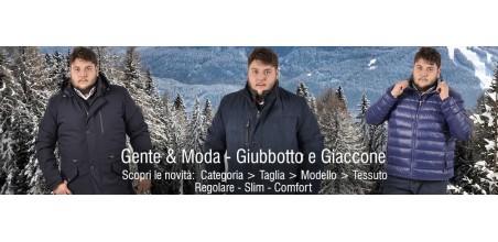 Giubbotto e Giaccone Taglie Forti