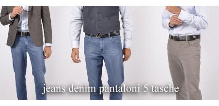 Jeans Denim e 5 tasche