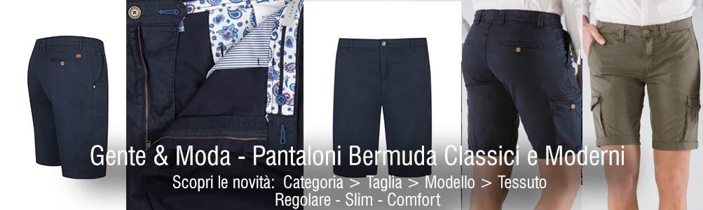 Pantalone Corto Bermuda Uomo pantalone estivo