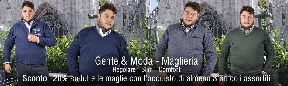 Maglieria Taglie Forti Uomo a Milano e provincia